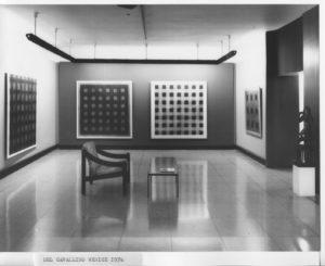 Richard Allen's 1974 solo exhibition at Galleria del Cavallino, Venice