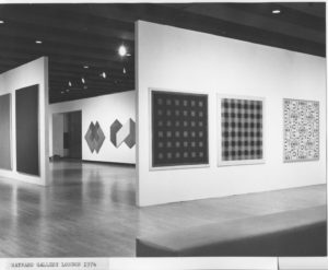 British Painting '74 exhibition at the Hayward Gallery, London 1974